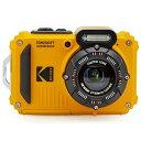 コダック コンパクトデジタルカメラ「防水+防塵+耐衝撃」 スポーツカメラ PIXPRO イエロー WPZ2