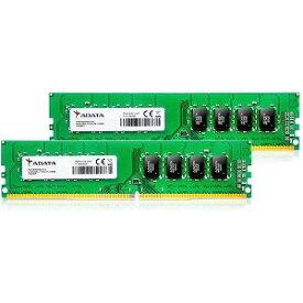 ADATA 増設メモリ デスクトップ用 AD4U266638G19−D [DIMM DDR4 /8GB /2枚]