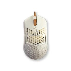 Finalmouse ゲーミングマウス ファイナルマウス[光学式/5ボタン/USB/有線] fm−ultralight2−capetown ホワイト