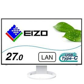 EIZO エイゾー USB−C接続 PCモニター FlexScan [27型/ワイド/WQHD(2560×1440)] EV2795−WT ホワイト