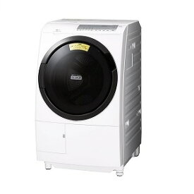 日立 HITACHI ドラム式洗濯機 [洗濯10.0kg/乾燥6.0kg/ヒーター乾燥/左開き] BD−SG100FL−W(標準設置無料)