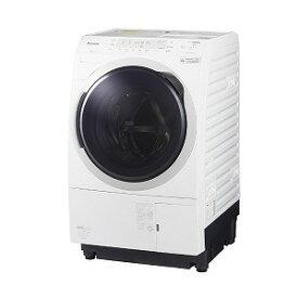 パナソニック Panasonic ドラム式洗濯乾燥機 VXシリーズ[洗濯10.0kg/乾燥6.0kg/ヒートポンプ乾燥/左開き] NA−VX300BL−W クリスタルホワイト(標準設置無料)