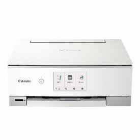 キヤノン CANON インクジェット複合機 TS8430 WHITE [カード/名刺〜A4] PIXUSTS8430WH
