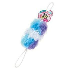 マーナ 背中も洗えるシャボンボールミックス B873(B)(ブルー)