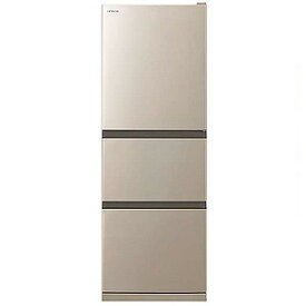 日立 HITACHI 3ドア冷蔵庫(265L・右開きタイプ)シャンパン R−27NV_N(標準設置無料)