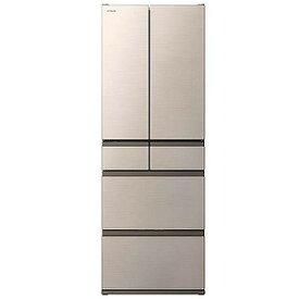 日立 HITACHI 6ドア冷蔵庫(475L・フレンチドア)シャンパン R−H48N_N(標準設置無料)