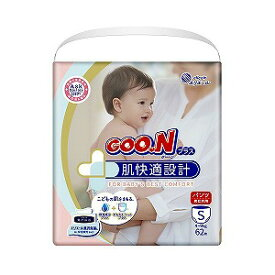 大王製紙 GOON(グーン)プラス 肌快適設計 Sサイズ 62枚 グンプラスPS62マイ(62