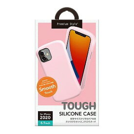 PGA iPhone 12/12 Pro 6.1インチ対応シリコンタフケース ベビーピンク PG−20GSC05PK