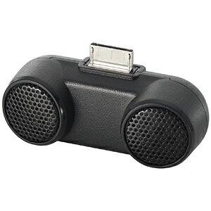 ロジテック Walkman専用 ダイナミックサウンド コンパクトスピーカー LDS‐WMP500BK (ブラック)