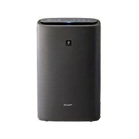シャープ SHARP 加湿空気清浄機 グレー系 [適用畳数:23畳/最大適用畳数(加湿):17畳/PM2.5対応] KI−NS50−H