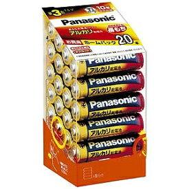 パナソニック Panasonic アルカリ乾電池単3形20本パック LR6XJ/20SH