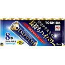 東芝 「単3形乾電池」アルカリ乾電池 「IMPULSE(インパルス)8本」 LR6H8MP