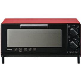 ツインバード オーブントースター [860W/食パン2枚] TS−4035R (レッド)