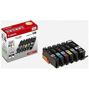 Canon インクタンク(BCI−351XL「BK/C/M/Y/GY」+BCI−350XL)マルチパック BCI‐351XL+350XL/6MP(送料無料)