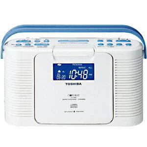東芝 防水CDクロックラジオ TY−CDB5 W TY‐CDB5‐W (ホワイト)(送料無料)