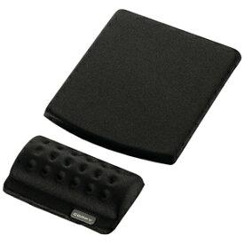 エレコム リストレスト+マウスパッド COMFY(カンフィー)「ブラック」 MP‐114BK