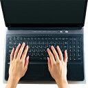 エレコム キーボードカバー「大型ノートPC用(15.4W〜16.4W)」 PKU‐FREE4