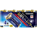 東芝 「単2形乾電池」アルカリ乾電池 「IMPULSE(インパルス)4本」 LR14H4MP