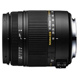 シグマ 標準レンズ キヤノン用 18‐250mm F3.5‐6.3 DC MACRO OS HSM(キヤノン)(送料無料)