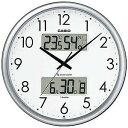 CASIO 壁掛け時計 ITM‐650J‐8JF (シルバー)