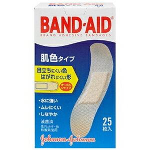 ジョンソン&ジョンソン バンドエイド 肌色タイプ スタンダードサイズ (25枚入)