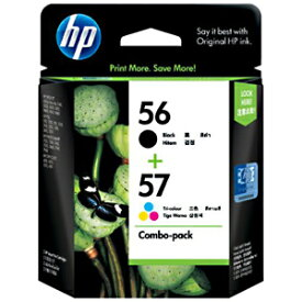HP HP56/57 インクカートリッジ (黒・カラーパック) CC629AA