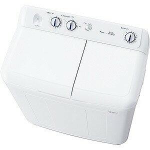 ハイアール 二槽式洗濯機(8.0kg) JW‐W80E‐W (ホワイト)(標準設置無料)