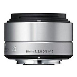 シグマ ミラーレス一眼カメラ専用 標準レンズ 30mm F2.8 DN(ソニーE) (シルバー)(送料無料)
