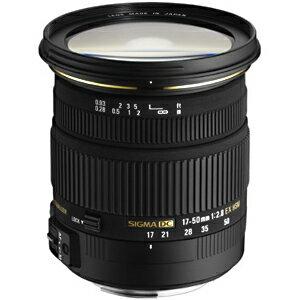 シグマ 標準レンズ ニコン用 17‐50mm F2.8 EX DC OS HSM(ニコン用)(送料無料)
