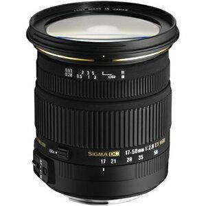 シグマ 標準レンズ キヤノン用 17‐50mm F2.8 EX DC OS HSM(キヤノン用)(送料無料)