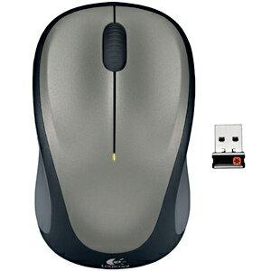 ロジクール ワイヤレス光学式マウス(2.4GHz・USB)3ボタン M235rSV (シルバー)