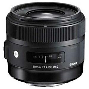 シグマ 標準レンズ ニコン用 30mm F1.4 DC HSM(ニコン用)(送料無料)