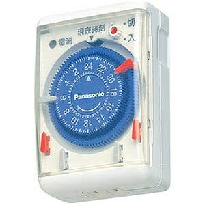 パナソニック 24時間くりかえしタイマー WH3301WP (ホワイト)