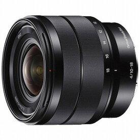 ソニー SONY デジタル一眼カメラα「Eマウント」用レンズ (E 10−18mm F4 OSS) SEL1018
