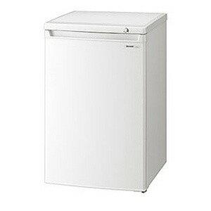 シャープ 1ドア冷凍庫(86L) FJ‐HS9X‐W (ホワイト系)(標準設置無料)