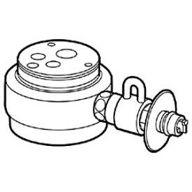パナソニック Panasonic 食器洗い乾燥機用 分岐水栓 CB‐SXA6