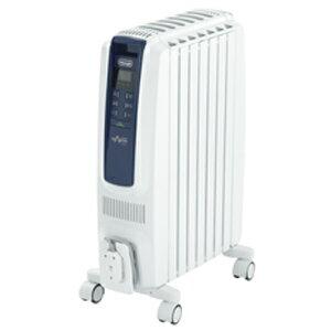 デロンギ オイルヒーター ドラゴンデジタルスマート QSD0712−MB (ピュアホワイト+ブルー)(送料無料)