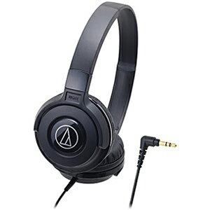 オーディオテクニカ ポータブルヘッドホン ATH‐S100 BK (ブラック)