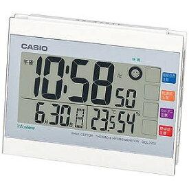 CASIO 置き時計 DQL‐220J‐7JF (ホワイト)