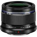 オリンパス 交換レンズ「M.ZUIKO DIGITAL 25mm F1.8」 25MMF1.8 (ブラック)(送料無料)