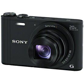 ソニー デジタルスチルカメラ「Cyber−shot」 DSC−WX350/B (ブラック)