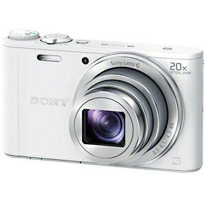 ソニー デジタルスチルカメラ「Cyber−shot」 DSC−WX350/W (ホワイト)