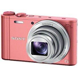 ソニー デジタルスチルカメラ「Cyber−shot」 DSC−WX350/P (ピンク)