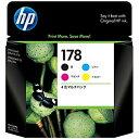 HP HP178 4色マルチパック CR281AA(HP178セット4ショク)(送料無料)