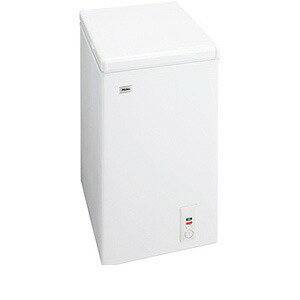 ハイアール チェスト式冷凍庫(66L) JF‐NC66F‐W (ホワイト)(標準設置無料)