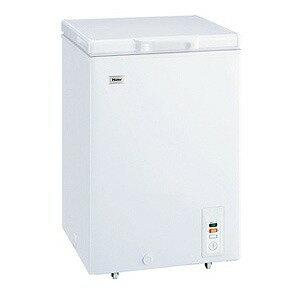 ハイアール チェスト式冷凍庫(103L) JF‐NC103F‐W (ホワイト)(標準設置無料)