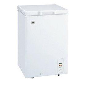 ハイアール チェスト式冷凍庫(103L・上開き) JF‐NC103F‐W (ホワイト) (標準設置無料)
