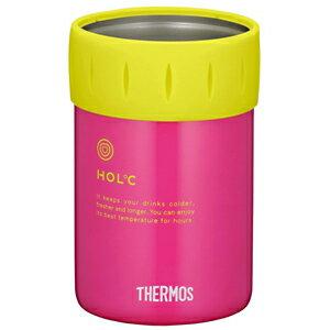 サーモス 保冷缶ホルダー(350ml缶用) JCB‐351(P)(ピンク)