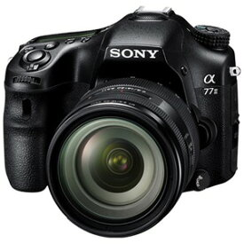 ソニー SONY デジタル一眼カメラ「α77II」ズームレンズキット ILCA−77M2Q
