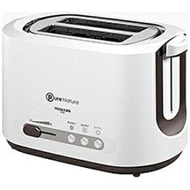 テスコム ポップアップトースター [850W/食パン2枚] CT30‐W (ホワイト)